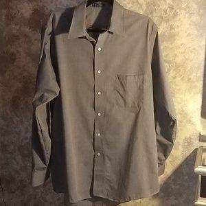 Editions by Van Heusen Gray Button Down Shirt